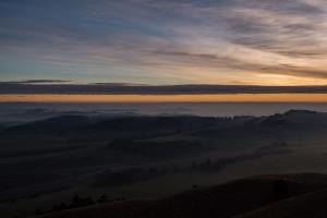 Sonnenaufgang Ipf