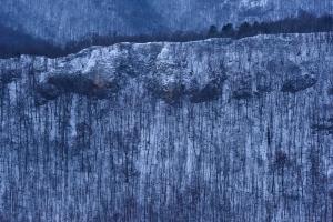 Winterstrukturen am Albtrauf