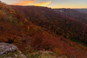 Herbstfarben über dem Brühlbachtal