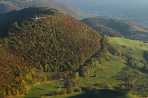 Teck mit Blick ins Lenniger Tal