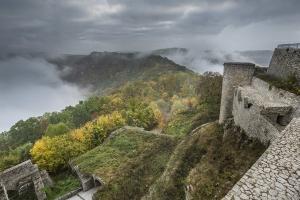 Auf der Burg Hohen Neuffen