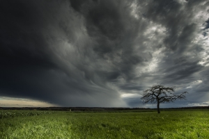 Wetterstimmung auf der Ostalb