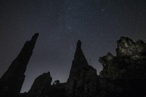 Sternenhimmel über dem Eselsburger Tal