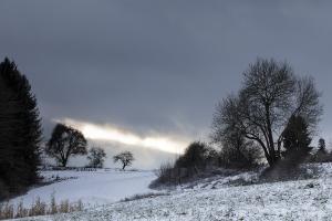 Winterliche Schwäbische Alb