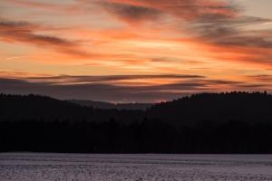 Sonnenaufgang bei Hossingen