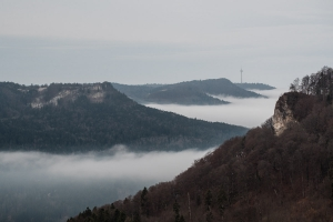 Nebel im Eyachtal