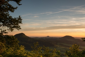 Drei Kaiserberge Sonnenuntergang