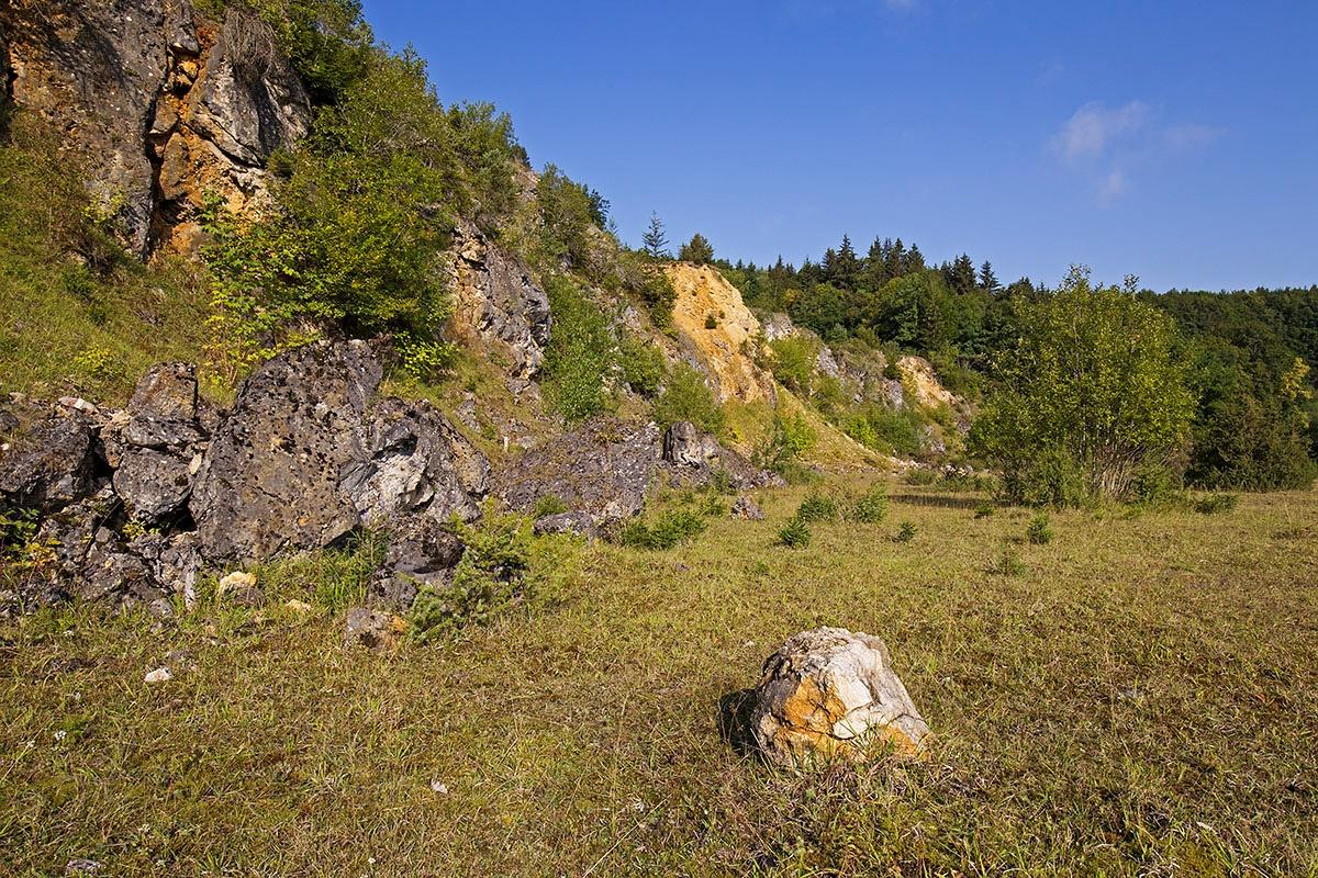 Steinbruchterrassen