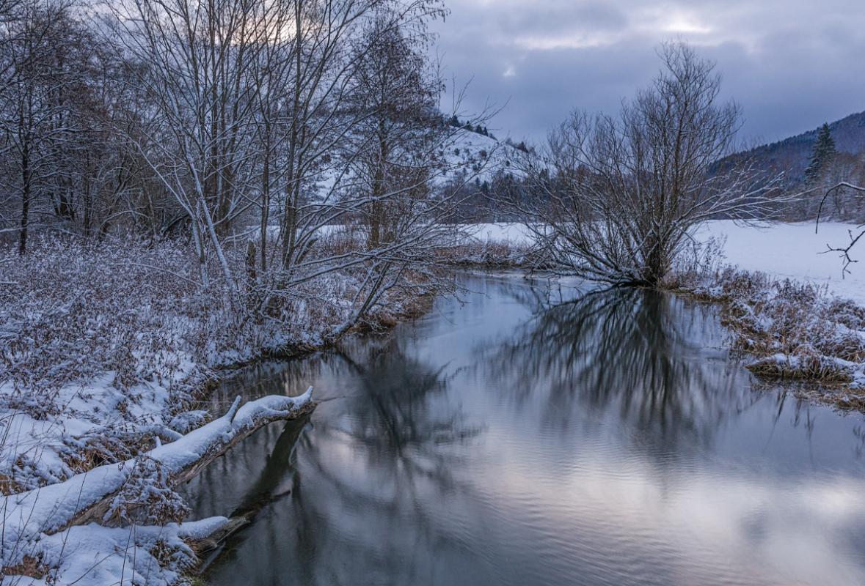 Große Lauter im Winter
