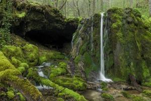 Wasserfall am Ditz