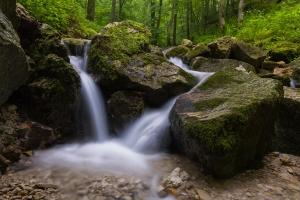 Wasserfall am Wittlinger Bach