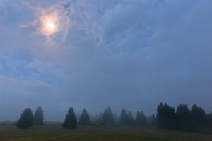 Mondschein auf dem Plettenberg