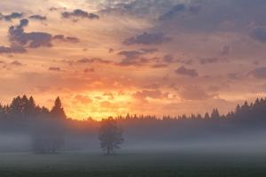 Irndorfer Hardt - Leuchtende Wolken