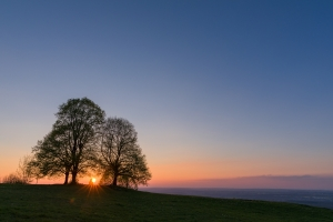 Sonnenuntergang beim Jusi