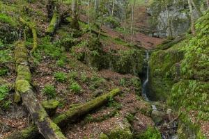 Wasserfall am Rulamanweg