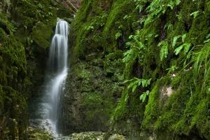 Wasserfall beim Rulamanweg