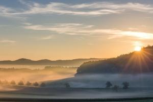 Sonnenaufgang bei Ohnastetten