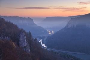 Blick ins Donautal vom Eichfelsen
