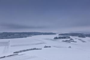 Schneelandschaft auf der Alb