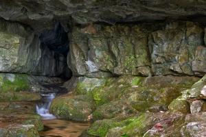 Ausgang Brunnensteighöhle