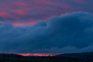 Sonnenuntergang Drei Königs Felsen